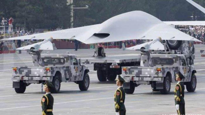 Amerika Kalah Lagi , China Luncurkan Pesawat Induk Tak Berawak, Bawa 9 Drone Kecil Misi Tempur