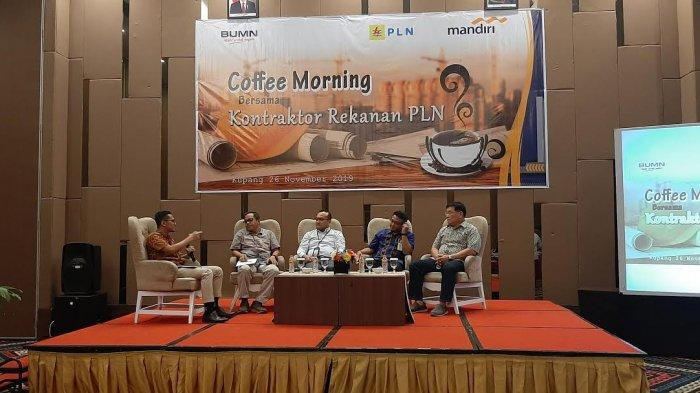Bank Mandiri Gelar Coffee Morning, Simak Harapan GM PLN UIW NTT