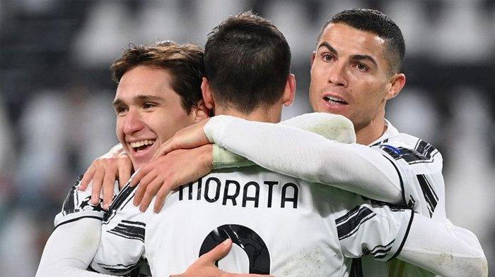 HASIL Liga Champions Tadi Malam - Di Grup G, Barcelona dan Juventus Menang Identik