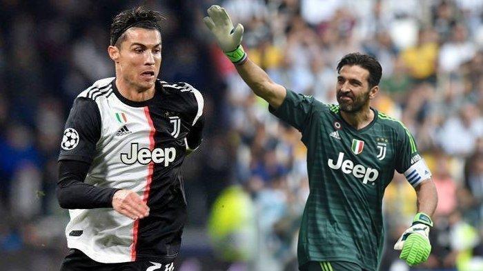 Kebahagiaan Gianluigi Buffon Bisa Main Satu Tim dengan Cristiano Ronaldo Meski Pernah Dibuat Stres