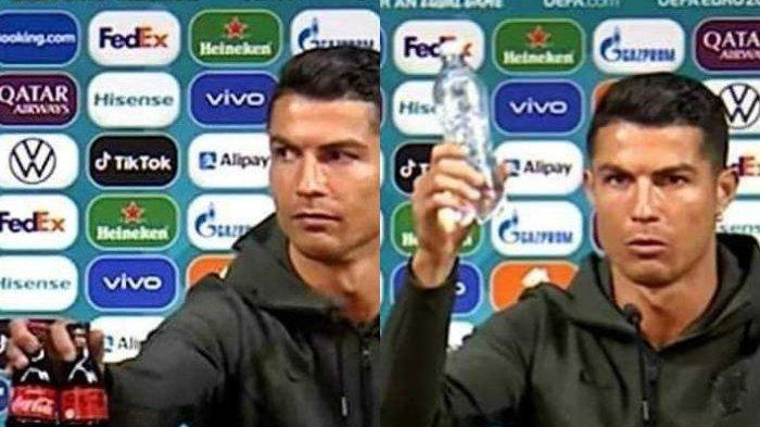 Geser Minuman Sponsor, Cristiano Ronaldo Trending di Euro 2020, UEFA Berikan 'Hadiah Spesial', Apa?