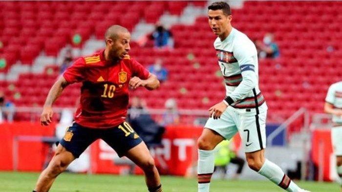 Cristiano Ronaldo Disambut Kejam Suporter di Spanyol, Portugal Gagal Bikin Gol di Negeri Matador
