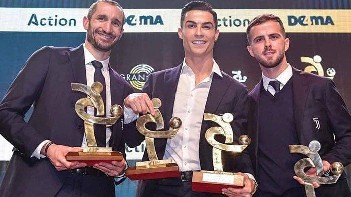 Saat Lionel Messi Sabet Ballon d'Or 2019, Cristiano Ronaldo Menang di Serie A Gala del Calcio