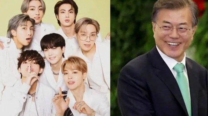 Daebak, BTS Ditunjuk Jadi Utusan Presiden Korea Selatan di Sidang Umum PBB, ARMY Bangga