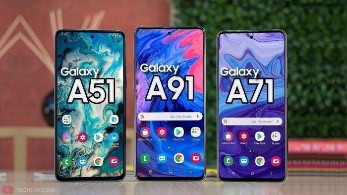 UPDATE Harga Terbaru HP Samsung November 2020, Galaxy A01 Core, Galaxy A11 hingga Galaxy A51, BURUAN