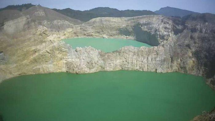 TRIBUN WIKI : Begini Alasan Danau Kelimutu Menjadi Spesial