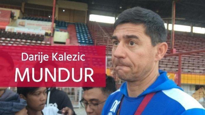 Pelatih Darije Kalezic Hengkang dari PSM Makassar Usai Bentrok Persib Maung Bandung, Diincar Tim