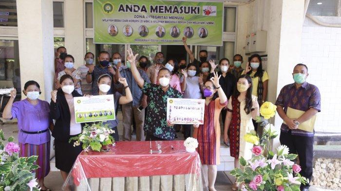 FK Undana Berkomitmen Wujudkan Zona Integritas Wilayah Bebas Korupsi dan Birokrasi Bersih Melayani