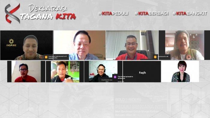 Kolaborasi 1.018 Komunitas Indonesia Timur Area Deklarasikan Program TAGANA KITA