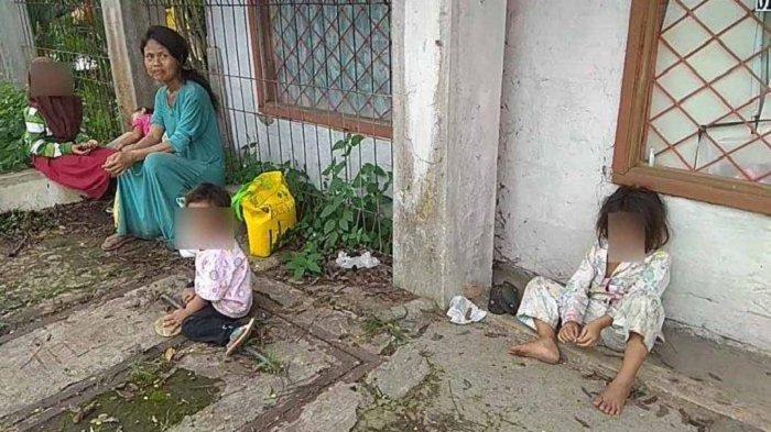Demi Sembako Bu Haji, Imas Cianjur Ajak 4 Balitanya Jalan Kaki Sejauh 10 KM, Tak Pakai Sandal