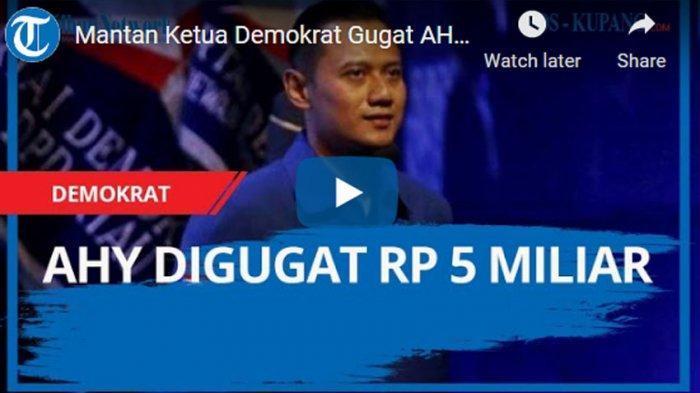 AHY Sebut Moeldoko Lakukan Fitnah Keji pada Demokrat, Kepala Staf Presiden Jokowi Singgung Pilpres