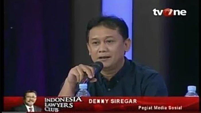 Sebut Natalius Pigai 'Cengeng' Denny Siregar Tulis Komentar Menohok Ini, Bandingkan dengan Ahok BTP
