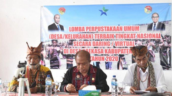 Desa Naekasa Masuk Nominasi Lomba Perpustakaan Umum Desa Tingkat Nasional
