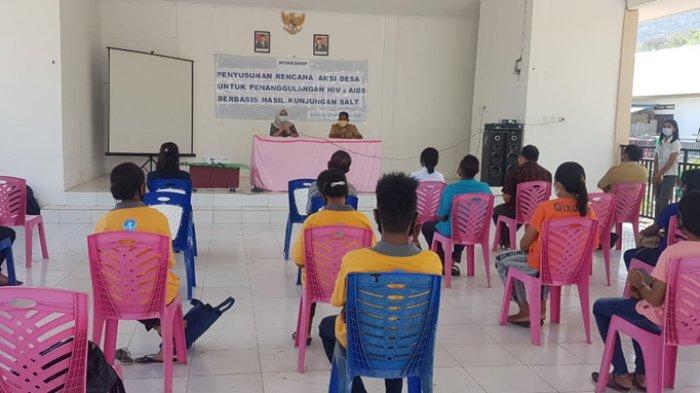 Desa Silawan-Belu Buat Rencana Aksi Penanggulangan HIV dan AIDS