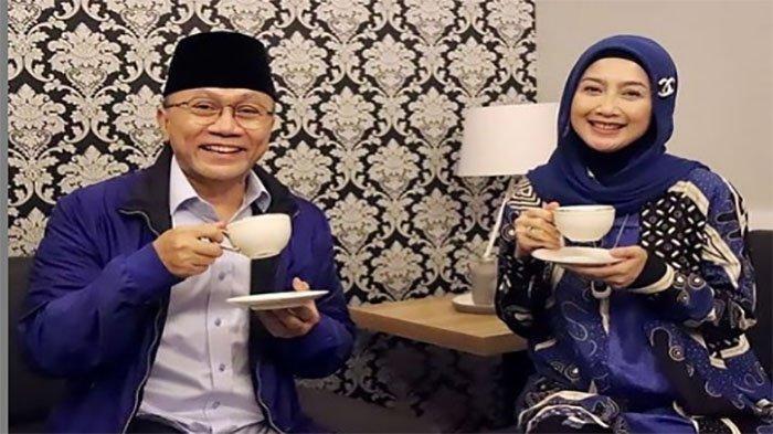 Desy Ratnasari Foto Bersama Zulkifli Hasan, Netizen Ucap Selamat Tinggal:Good bye PAN, Ada Apa?