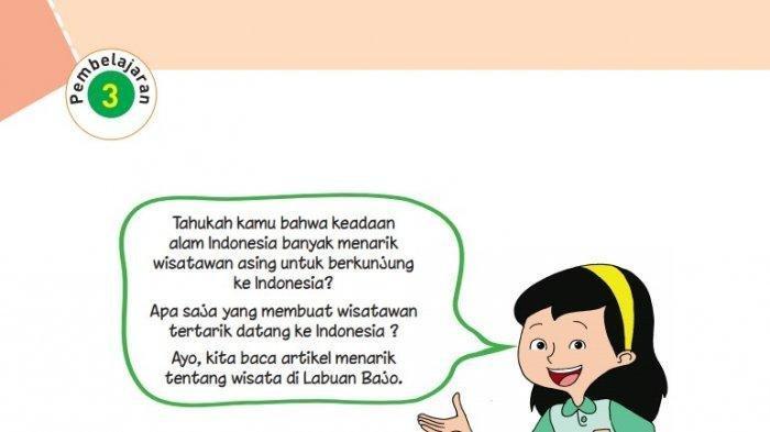 KUNCI JAWABAN Tema 8 Kelas 6 SD Buku Tematik Pembelajaran 3 Halalaman 108 109 110