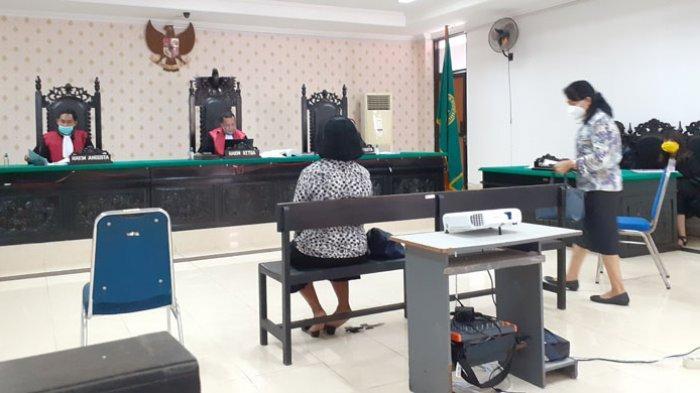 Istri Jonas Salean Dalam Persidangan Sebut Anak Mantu, Ipar & Terdakwa Sendiri Dapat Bagian Tanah