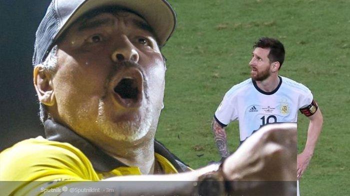 Argentina Kalah dan Jadi Juru Kunci di Copa America, Diego Maradona Berang: Bisa Kalah dengan Tonga