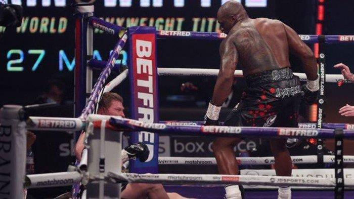 Kabar Tinju Dunia, Dillian Whyte Desak WBC Cabut Sabuk Juara Tinju Dunia Milik Tyson Fury, Mengapa?