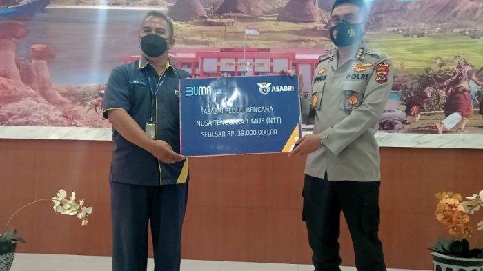 Asabri Salurkan Dana Bantuan ke Korban Bencana Badai Seroja di Nusa Tenggara Timur