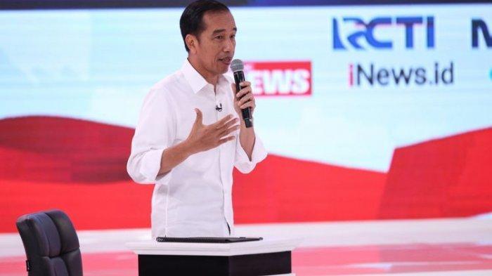 Ditanya Persiapan Debat Keempat, Begini Jawaban Jokowi
