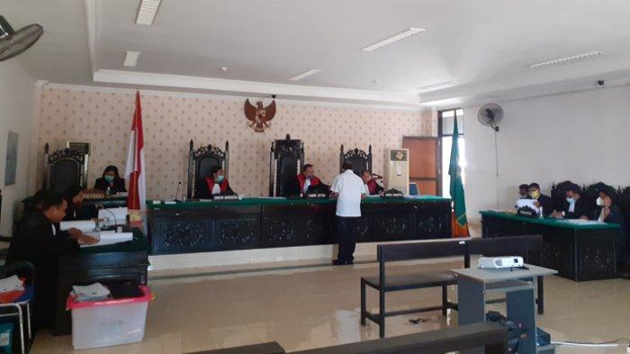 Djama Mila Meha Diskors Dua Kali dari Majelis Hakim Dalam Persidangan