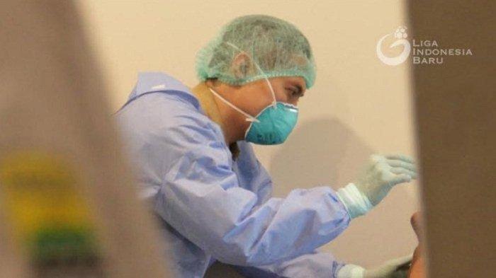 Antisipasi Corona, Pemain Persib Jalani Tes Kesehatan, Dokter Ambil Lendir Ini dari Tubuh Pemain