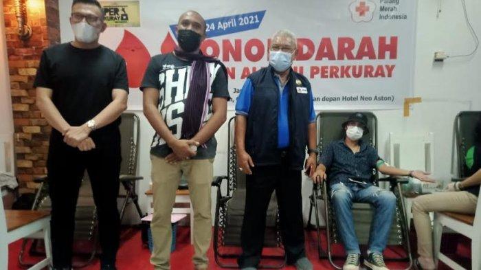 Yuk Simak, Aksi Kemanusiaan Perkuray Kupang Gelar Donor Darah