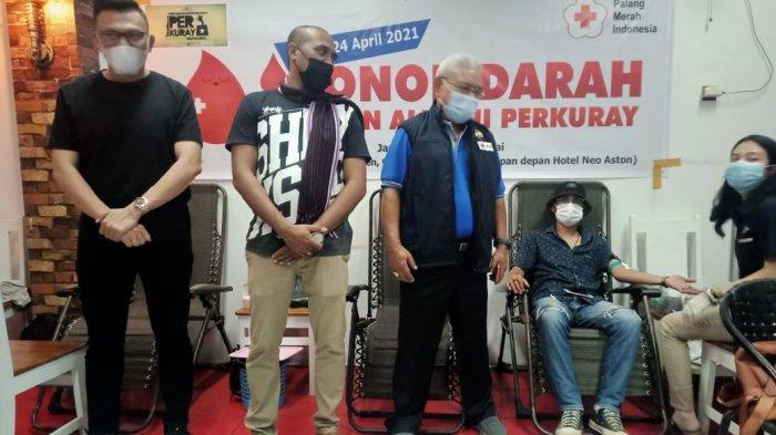 Aksi Kemanusiaan Perkuray Kupang Gelar Donor Darah, Jaga Stok Darah di PMI