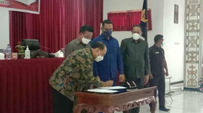 DPRD Kota Kupang Tetapkan Tiga Perda