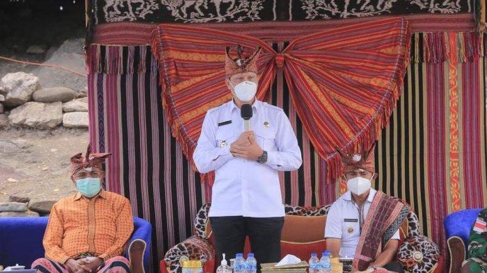 Bupati dan Wakil Bupati Belu Kunker ke Desa Duarato