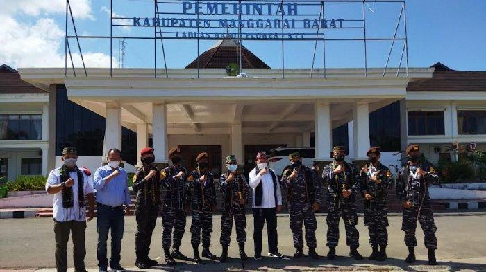 Wabup Mabar Yulianus Weng Senang Dapat Kunjungan Rombongan Taruna AAL