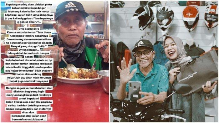 Viral, Driver Ojol 68 Tahun Dapat Donasi Ratusan Juta dari Warganet, Beli HP hingga Renovasi Rumah