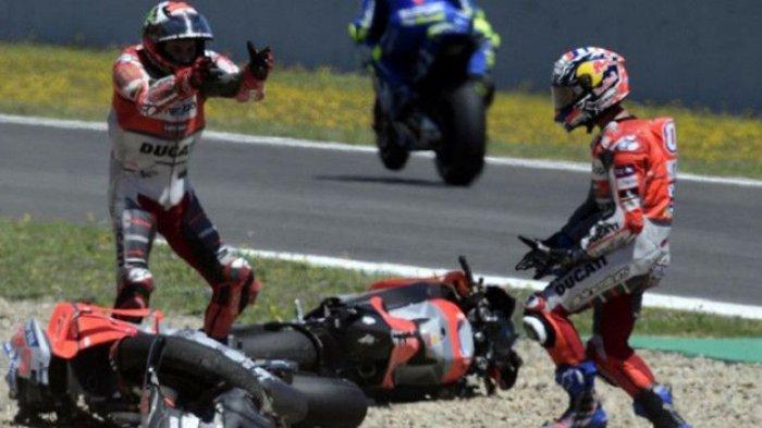 Jelang MotoGP Aragon, Jorge Lorenzo Belajar dari Kegagalan, Dovizioso Waspadai Marquez