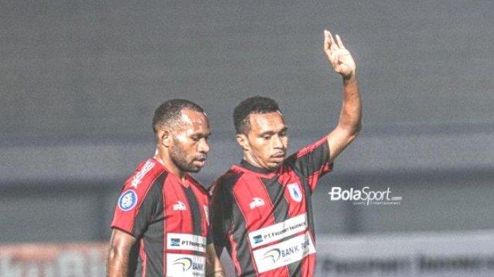 Liga 1 2021, Persipura Jayapura vs Madura United Berakhir Imbang 2-2, Gol