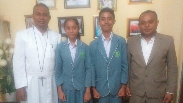 Dua Siswa SMAK Frateran Ndao, Ende Juara Satu Olimpiade