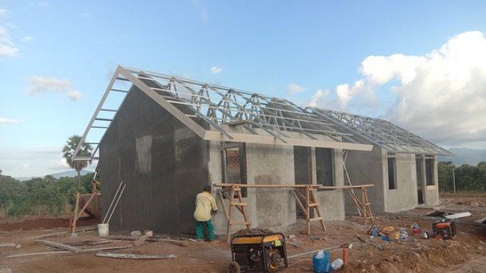Relokasi Tahap Pertama di Lembata Bagi Pemilik Rumah Hanyut, Hilang dan Rusak Berat