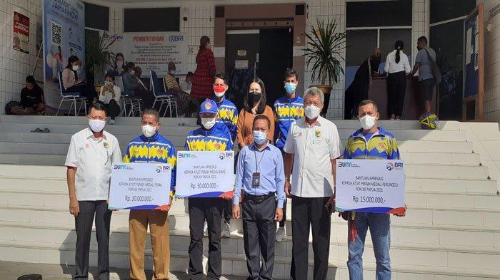 Dukung Atlet-Atlet NTT Berprestasi, BRI Cabang Kupang Beri Hadiah Hingga Jutaan Rupiah