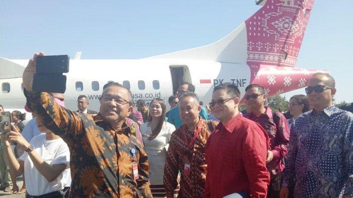 Cegah Corona, TransNusa Apresiasi Gubernur Viktor Laiskodat Hentikan Penerbangan Rute Kupang-Dili