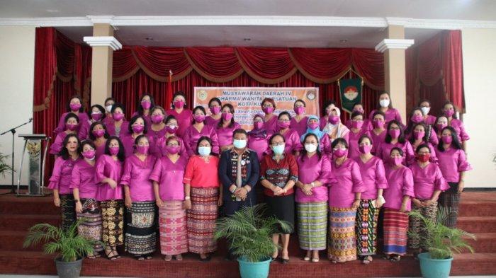 Dharma Wanita Persatuan Gelar Musda, Simak Pesan Sekretaris Daerah Kota Kupang