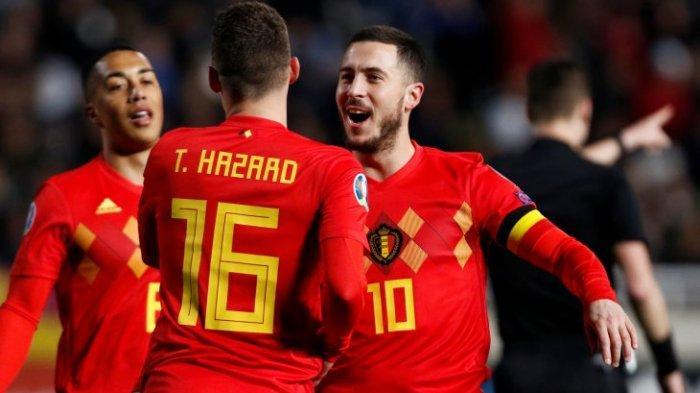 Daftar Pemain Belgia EURO 2021 dan Lengkap Jadwal Pertandingan Grup B Euro