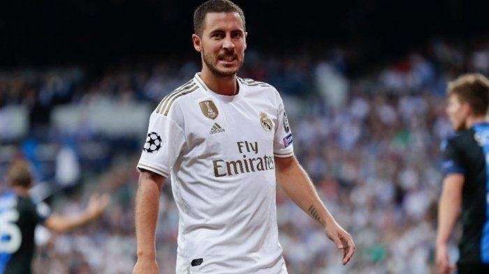 Susunan Pemain Real Madrid Vs Chelsea Semifinal Liga Champions, Eden Hazard Reuni dengan The Blues