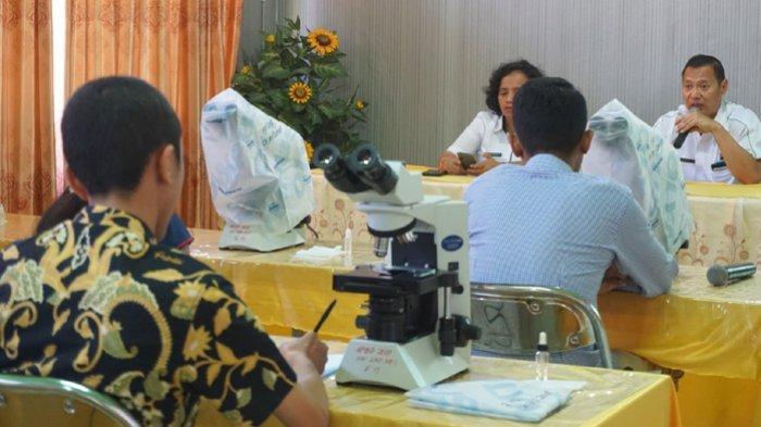 Eliminasi Malaria UPT Laboratorium Kesehatan Provinsi NTT Gelar Job Training Bagi Analis Kesehatan