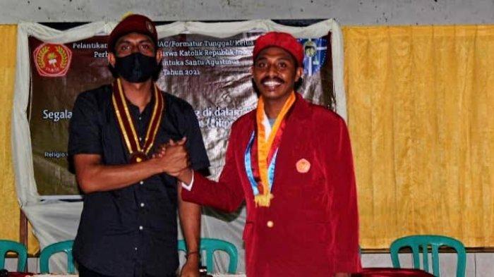 Dilantik Jadi Ketua Presidium PMKRI Larantuka, Maran Singgung Soal Dugaan Gratifikasi DPRD Flotim