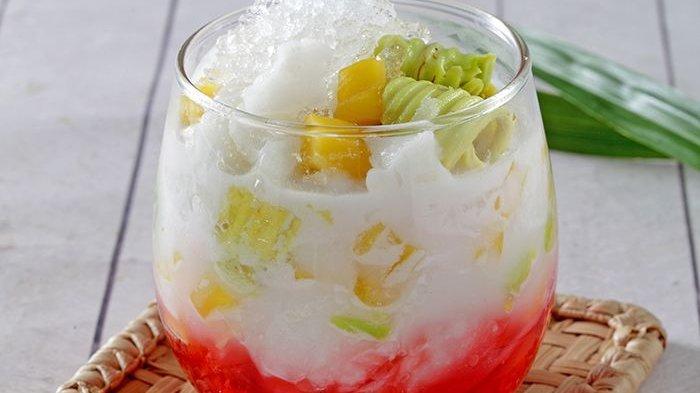 Es Kopyor Alpukat, Minuman Buka Puasa Segar Enak, Cara Buatnya Juga Sederhana