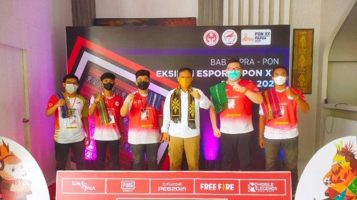 Tim Esport NTT ke Babak 16 Besar Pra PON XX 2021 Papua