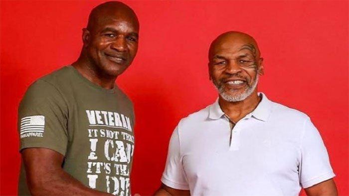 Baru Kalah KO dari Jagoan UFC , Evander Holyfield Malah Nantang Duel Mike Tyson
