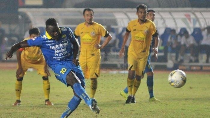 Kabar Buruk, Striker Persib Bandung Ezechiel NDouassel Akan Tinggalkan Kota Maung Bandung, Info