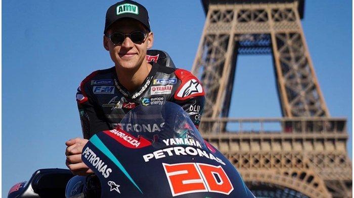 Pebalap MotoGP Fabio Quartararo