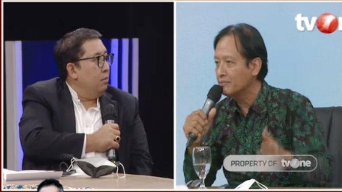 ILC TV One Tadi Malam, Prof Henri Subiakto Dipermalukan Fadli Zon di Depan Karni: Nggak Mutu Banget